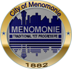 The Seal of the City of Menomonie, Wisconsin